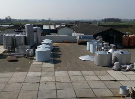 Rvs tanks staphorst