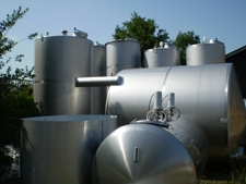 Rvs tanks gebruikt