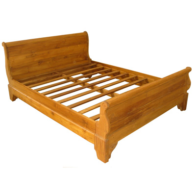 Teak-bed-klassiek