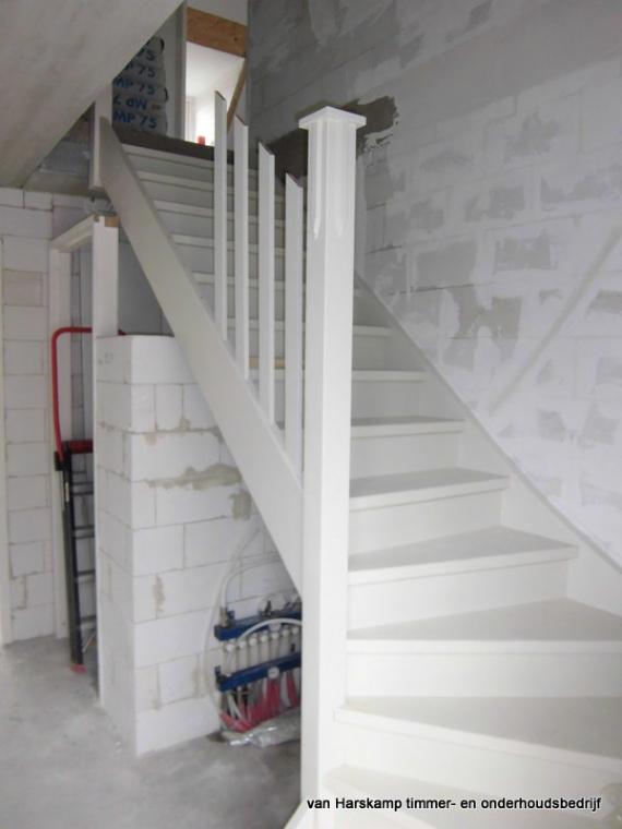 Verbouwing for Plaatsen trap