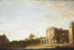 Abdij van Rijnsburg (Aelbert Cuyp c. 1640 - 1642)