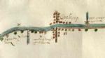 kaart Boskoop 1656