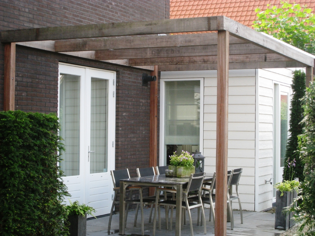 Terras veranda jpg for Spiegelvijver bak