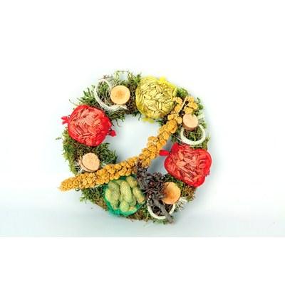 Bird-Food-Mini-Wreath-Ø-25-cm